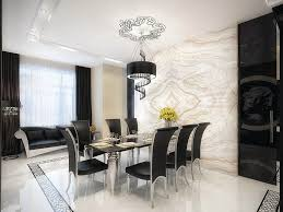 black dining room light fixtures with luxury interior and modern furniture design ideas for low ceilings