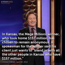 Joke: In Kansas, the Mega Millions winner, who took home ... via Relatably.com