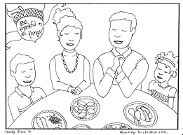 Free Christian Thanksgiving Coloring Pages Color Christmas