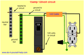 circuit breaker wiring diagrams do it yourself help com Electric Circuit Breaker Panel Wiring wiring diagram 15 amp circuit breaker circuit breaker panel wiring diagram pdf