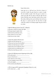 The 25+ best Daily routine worksheet ideas on Pinterest | Daily ...