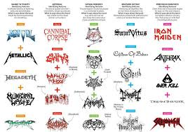 Heavy Metal Genealogy Chart The International Day Of Heavy Metal Images Gallery 6