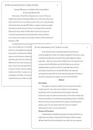 Apa 6th Edition Sample Paper With Figures Example Of Essay In Format