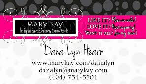 7 mary kay invitation templates yimay mary kay business cards template free