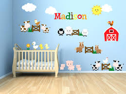 animal wall decals for kids kids room wall decals farm wall decals farm  animal decals zoom . animal wall decals for kids ...