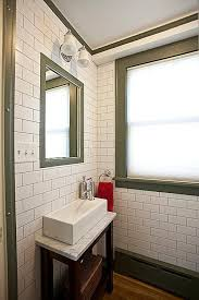 tiny bathroom narrow sink