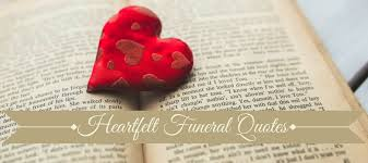 Heartfelt Quotes Simple 48 Best Funeral Quotes Love Lives On