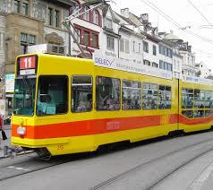 Trams in Basel