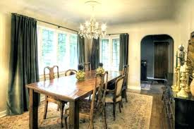 chandelier height from table the correct