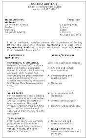 Skill Examples For Resumes Sample Professional Resume