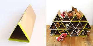 Diy cardboard furniture Shoe Organizer Cardboard Cardboard Shoe Rack The Spruce Cardboard Furniture For Dorm Rooms And Urban Nomads