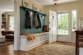 Laundry Room Coat Rack Awesome Coat Rack Bench Laundry Room Traditional With Builtin Seat Round