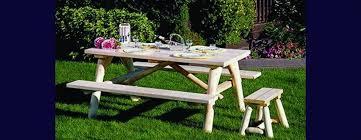cedar indoor and outdoor furniture