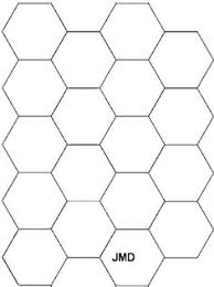 Printable hexagon templates for your creative craft or project ... & paper piercing patterns ile ilgili görsel sonucu Adamdwight.com