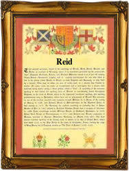 reid name. surname scroll for: reid name