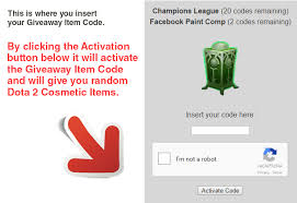 giveaway codes for free get it now from legit sites dotammr