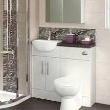 bathroom furniture modern. Gloss White Compact Bathroom Furniture Modern E