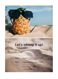 Beach Invitation Beach Party Invitation Template Pdf Templates Jotform