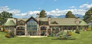 Beaver Creek Estate  Log Homes Cabins And Log Home Floor Plans Estate Home Floor Plans