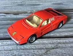 Mc Toy Rot Ferrari Testarossa 1 39 Maßstab Diecast Spielzeug Auto Macau Ebay