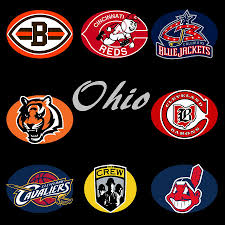 ohio digital art ohio professional sport teams collage by movie poster prints on cleveland sports teams wall art with ohio professional sport teams collage digital art by movie poster prints