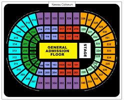 New Coliseum Uniondale Seating Chart For Changing Nassau Coliseum Seating Chart