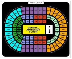 Nassau Coliseum Seating Chart Nkotb For Changing Nassau Coliseum Seating Chart