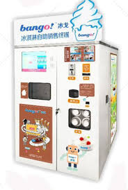 Ice Vending Machine Business Gorgeous China Custom OEM Robotic Big Automated Ice Cream Vending Machine