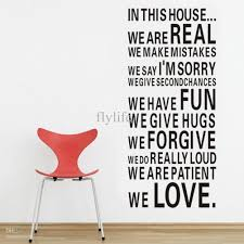 house full of love and fun large size vinyl wall lettering stickers quotes and sayings home art decor decal vinyl wall stickers vinyl wall stickers decals  on lettering wall art quotes with house full of love and fun large size vinyl wall lettering stickers