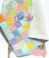 Childrens Patchwork Quilts Australia Childrens Patchwork Quilt ... & Baby Quilt Kit Precut Charm Pack Quilt Kit Quilting Ideas Sewing Project  Baby Boy Quilt Kits Adamdwight.com