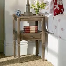 Weathered Oak Furniture Radnor Weathered Oak Bedside Table Oka