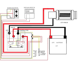 warn 2500 atv winch wiring diagram me within kuwaitigenius me wiring diagram for atv winch switch at Wiring Diagram For Atv Winch