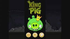 Angry Birds Golden King Pig Walkthrough - YouTube | Pig, Angry birds, Angry  birds original