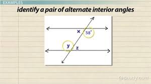 Interior Angles Chart Alternate Interior Angles Definition Theorem Examples