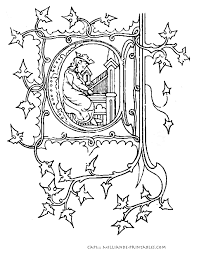 1fb15be826a26d24411089ea4c05d22f illuminated manuscript letters printable alphabet letters on van signwriting template