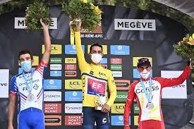 Nairo quintana, miguel ángel lópez y winner anacona fueron los mejores colombianos y llegaron a 11 segundos del ganador de la etapa 2 y nuevo líder del critérium del dauphiné , lukas postlberger. Ejuqf2p5zzg Rm