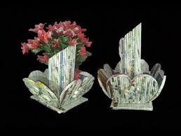 News Paper Flower Vase How To Make Flower Vase With Newspaper Newspaper Flower