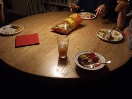 kitchen table with food. Simple Food A Dinner Table  For Kitchen Table With Food P