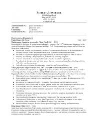 Cover Letter Maintenance Supervisor Resume Sample Electrical