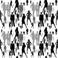 People Pattern New People Pattern Seamless BW By Amdillon On DeviantArt