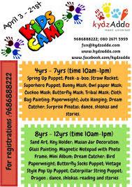 Dream Catcher Stories KydzAdda Kids Camp 100 Banashankari Bangalore 91