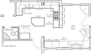 Great Kitchen Floor Plans Kitchen Island Design Ideas Cool Home Design  Gallery Ideas