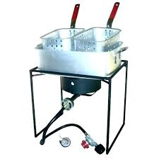 outdoor fish fryer double backyard deep medium size of patio dual turkey propane best commercial fry
