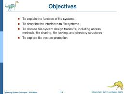 File Sharing System Design Chapter 13 File System Interface Ppt Download