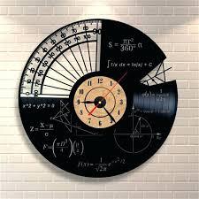 36 wall clock wall clocks wall mounted vinyl records wall clock math themes quartz decorative wall 36 wall clock