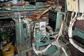 radio research paper tracker Aircraft Cable Harness another view of the wiring harnesses found behind the seat at no 3 position in aircraft s n 1600, the seat is missing aircraft cable hardware for deck railings