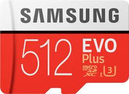 <b>Samsung EVO Plus</b> 512GB microSDXC UHS-I <b>Memory</b> Card MB ...