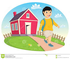 clipart for someone leaving job clipartfox boy leaving home vector