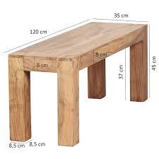 Wohnling Esszimmer Sitzbank Massiv Holz Akazie 120 X 45 X 35 Cm Design Holz Bank Natur Produkt Küchenbank Landhaus Stil Dunkel Braun Bank 3 Sitzer Für