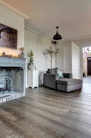 Een Mooie Authentieke Oude Houten Vloer Die Zowel In De Keuken